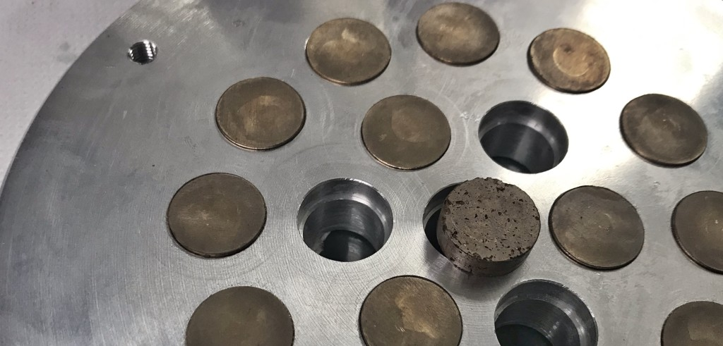 Prototypes of metal filters from EPoS